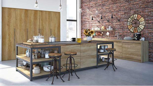 Kuchnia w stylu industrial
