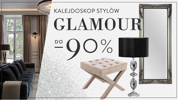 Elegancki glamour