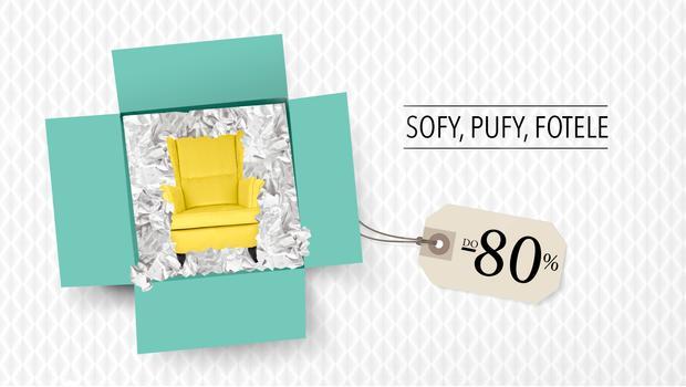 Sofy, pufy, fotele