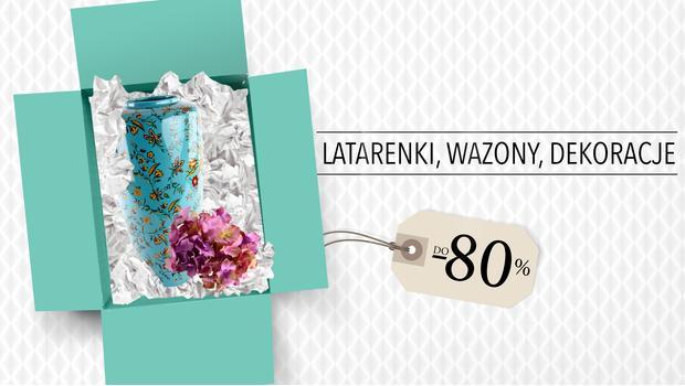 Latarenki, wazony, dekoracje