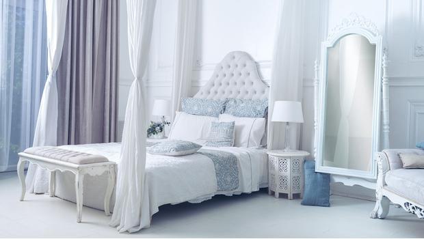 Sypialnia w kobiecym stylu