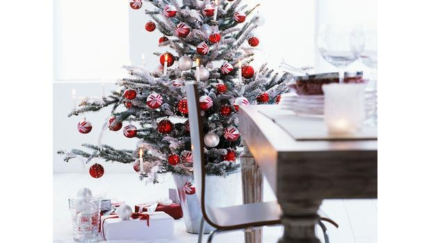 Xmas deco: Red, Green, Gold