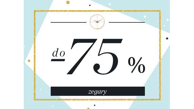Zegary do -75%