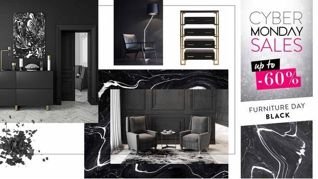 Black: kolekcja mebli