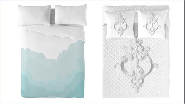 Sypialnia modnie ubrana