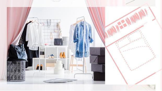 Zobacz 4 projekty garderoby...