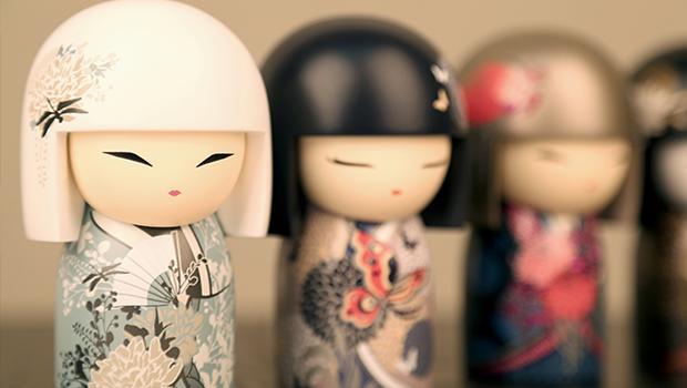 Japońskie laleczki
