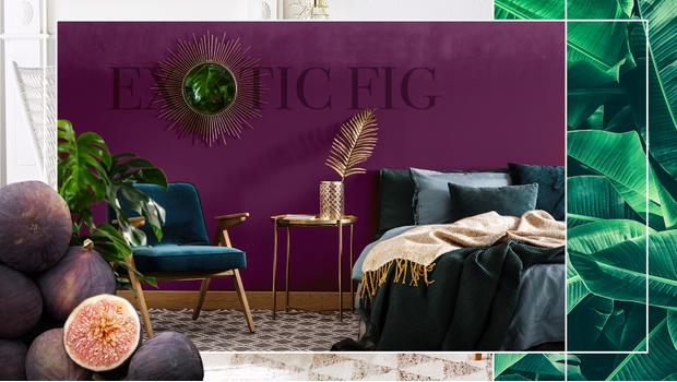 Exotic fig