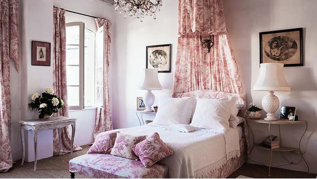 Prowansalska sypialnia