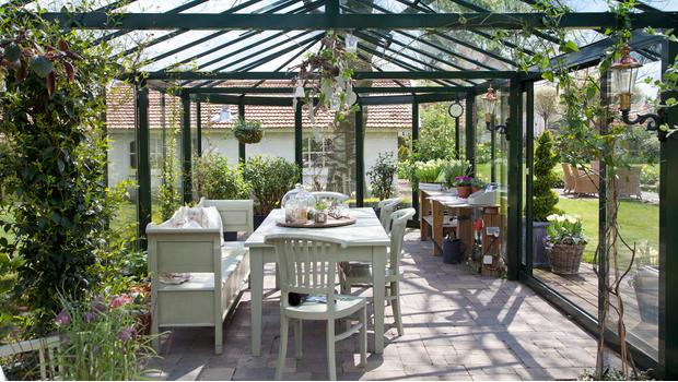 Relaks w ogrodzie