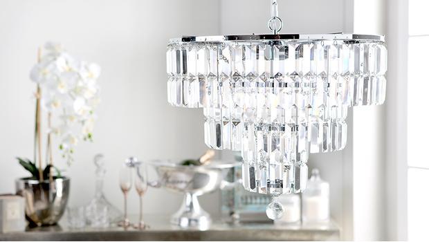 Lampy w stylu glam