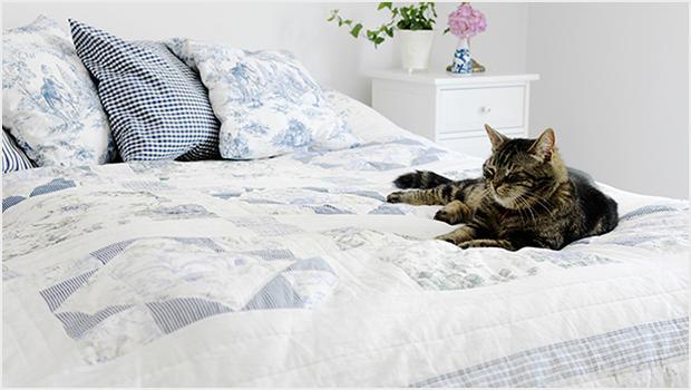 Inspirująca sypialnia