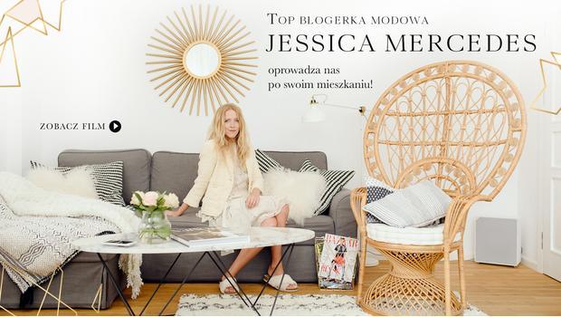 Tak mieszka Jessica Mercedes!