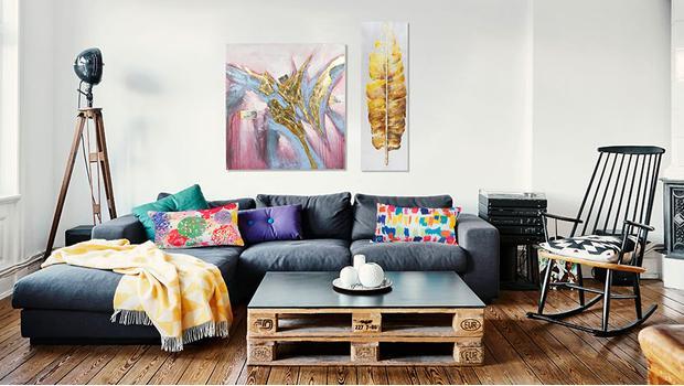 Eklektyczny loft