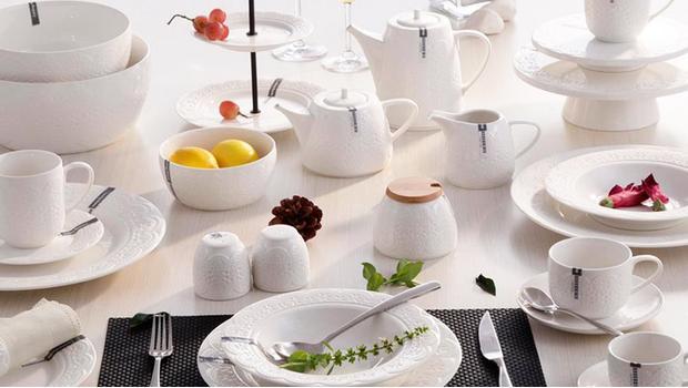 Krauff: porcelanowa zastawa