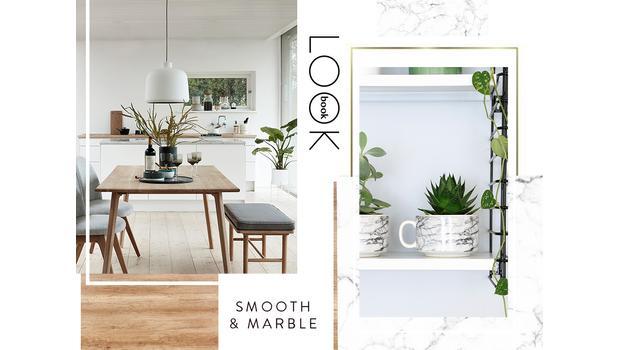 Lookbook: Smooth & Marble