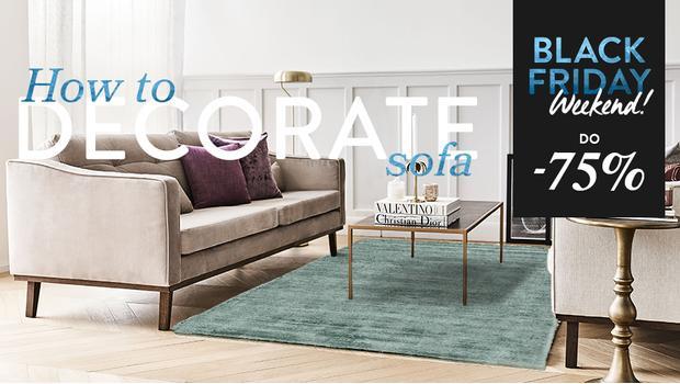 Sofa w 3 aranżacjach