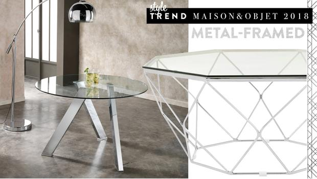 Style trend: Metal-framed