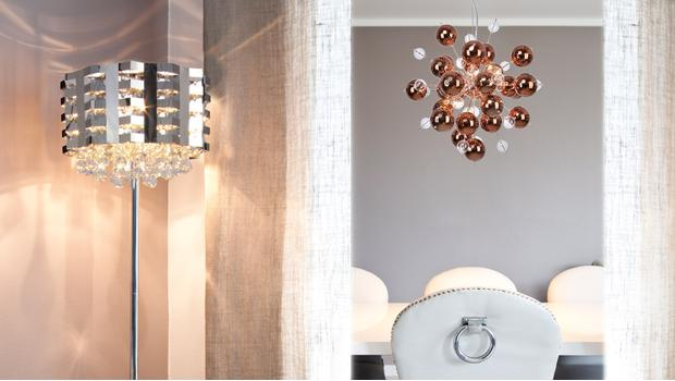 Modern & glam lighting
