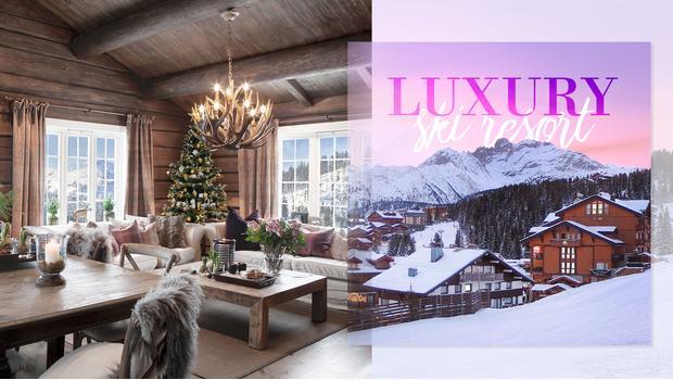 Luksusowy kurort narciarski