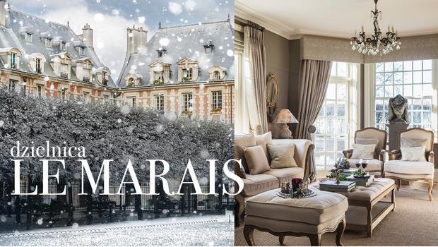Szyk paryskiej Le Marais