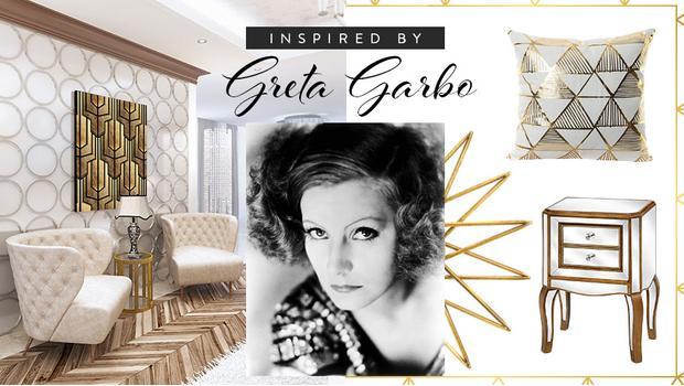 Diva art déco: Greta Garbo