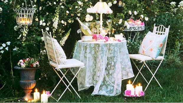 Romantyczny ogród