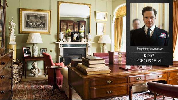 W gabinecie Króla Jerzego VI