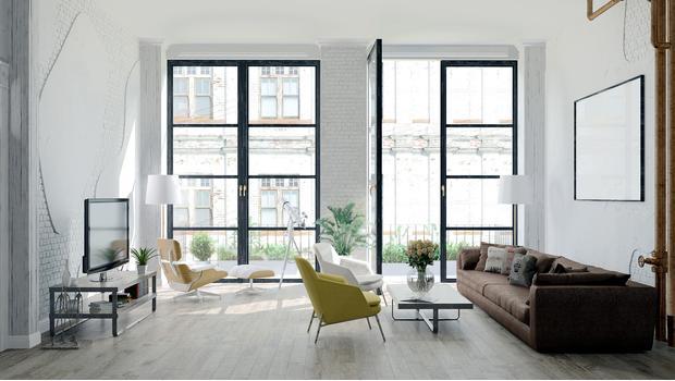 Industrialny apartament