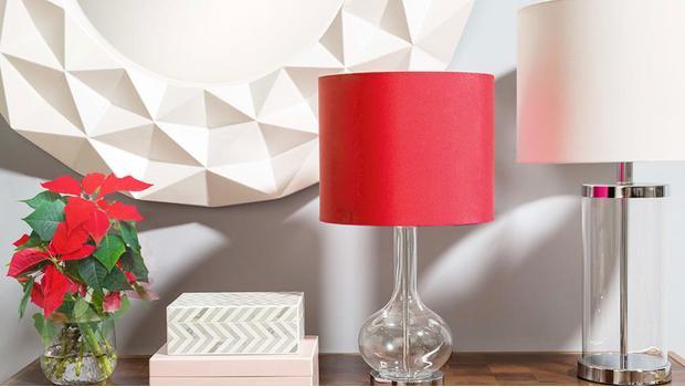 Świąteczny butik z lampami