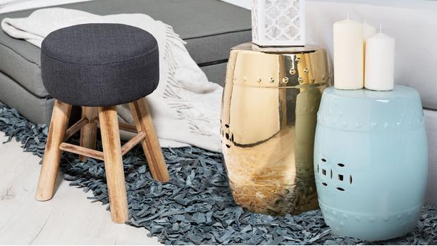 Pufy i stołki