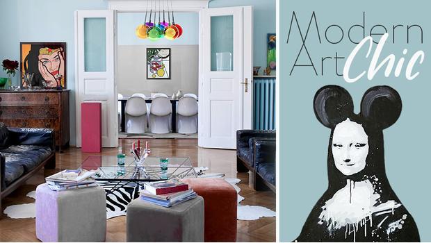 Mieszkanie artystki