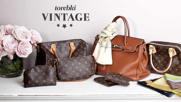 Oryginalne torebki vintage