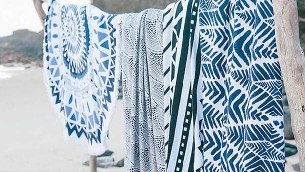 Okrągłe ręczniki plażowe