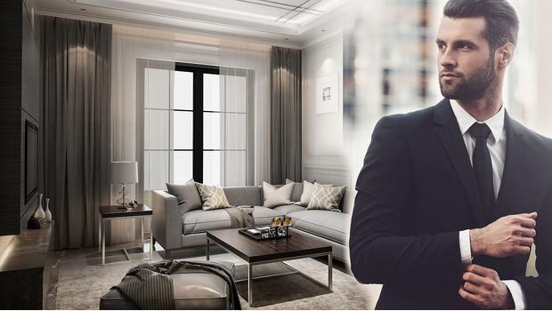 Mieszkanie biznesmena