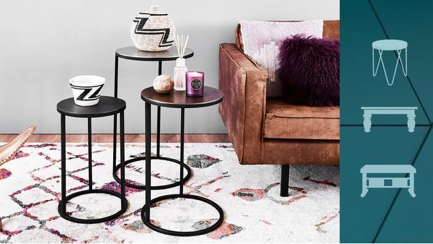 Stoliki, stoły, konsole