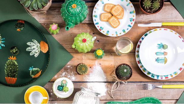 Letni stół w 3 stylach