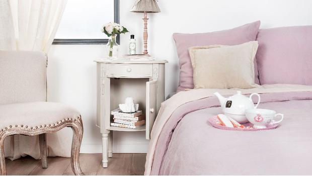 Sypialnia w hiszpańskim stylu