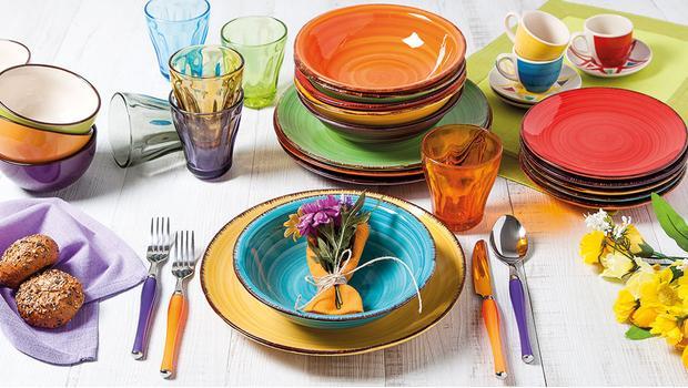 Kolorowy stół