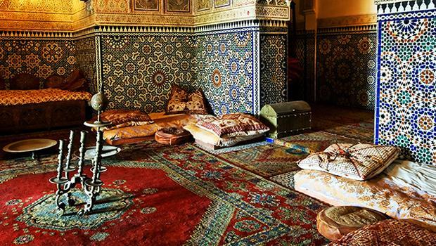 Orientalna podłoga