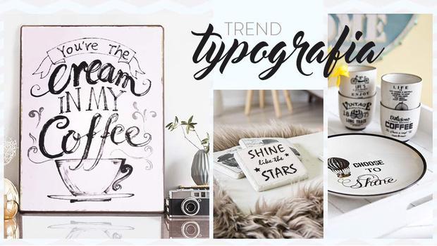 Trend: typografia