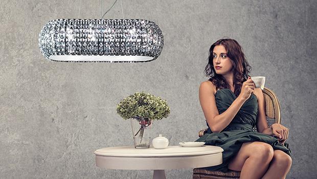 Lampy modern glamour