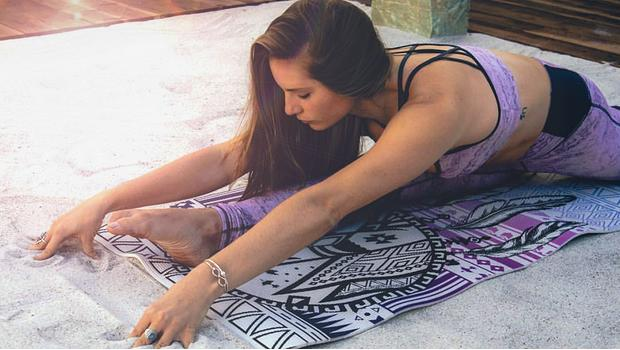 Maty do jogi z boho energią
