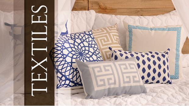 Kolorowe poduszki i pościel