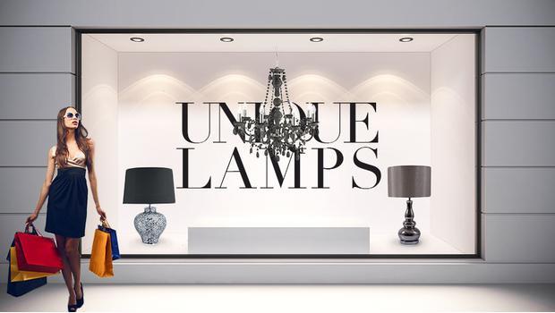 Butik z lampami