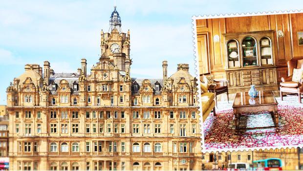 Balmoral Hotel в Эдинбурге