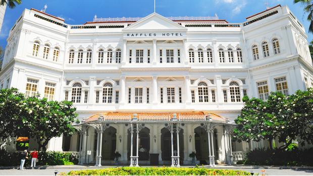 Raffles Hotel в Сингапуре