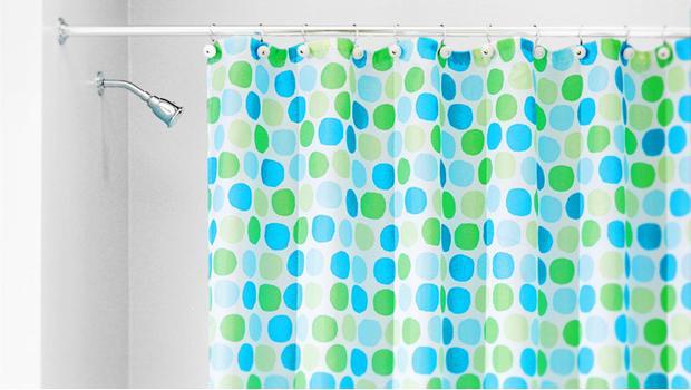 InterDesign: шторы для ванной