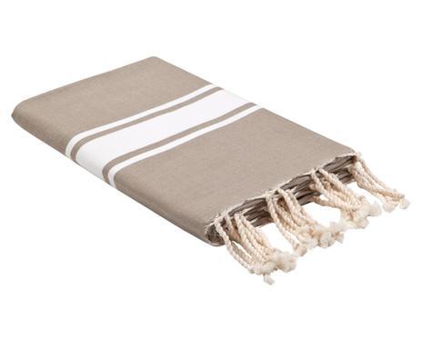 ... Hamamtuch RIVA, Braun Grau/weiß, 100 X 200 Cm Verfügbarkeit Prüfen ...