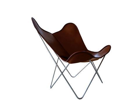 Butterfly Chair, Leder, Kaffee Verfügbarkeit Prüfen ...